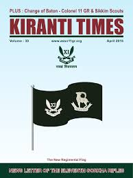 Six Flags Newsletter 11 Gr 11th Gorkha Rifles Gorkha Rifles Welfare Association