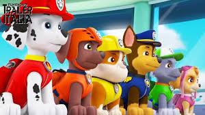 cuccioli paw patrol arrivano al cinema