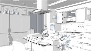 awesome sketchup kitchen design remodel interior planning house