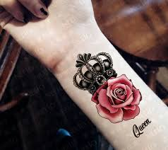 the 25 best crown tattoo on wrist ideas on pinterest future