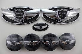 hyundai genesis coupe badge of speed genesis coupe wing chrome emblem steering wheel cap