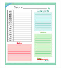 daily planner template 26 free word excel pdf document free