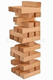 wood block balanced wood block tower stock photo colourbox