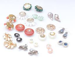how to make your own clip on earrings vintage clip on earrings wearable plaster disaster