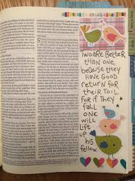 march 2017 journaling bible