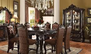 dining room sets ebay acme versailles 61155 set 5 cherry oak dining room set ebay acme