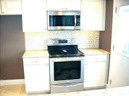 how to install over the range microwave without a cabinet microwave oven over range installing over range microwave oven over