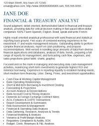 budgeting analyst resume
