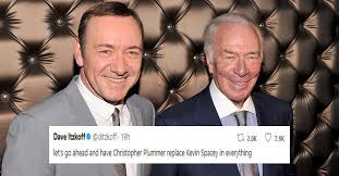 Christopher Meme - christopher plummer replacing kevin spacey in film launching memes