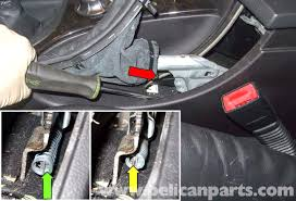 bmw e60 5 series parking brake adjustment 2003 2010 pelican