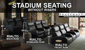 Home Theater Design Software Online Seatcraft Rialto Home Theater Seating Leading Online Retailer Of