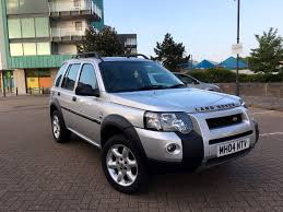 2004 land rover freelander td4 hse s w silver f s h full leather