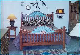 Southwest Bedroom Furniture Santa Southwest Style Bedroom Set