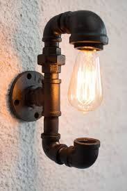 industrial pipe light fixture 16 sculptural industrial diy pipe l design ideas able to