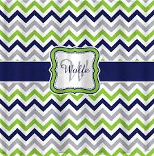 Navy And Green Curtains Shower Curtain Multi Color Lime Navy Gray And White By Redbeauty