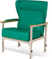 Bariatric Armchairs Wood Framed Chairs With Adjustable Seat Height