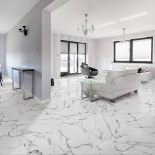 somertile 18x18 inch calacatta ceramic floor and wall tile