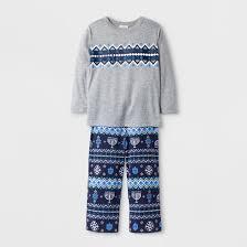hanukkah clothing toddler hanukkah 2pc pajama set wondershop gray target