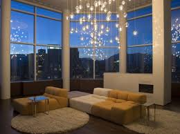 Lighting For A Living Room by Chandelier Living Room With Chandelier In A Living Room Chandelier