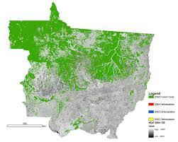 Amazon Rainforest Map Nasa Satellite Measures Deforestation Image Of The Day