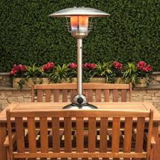 Table Top Gas Patio Heater Table Top Gas Patio Heater Stainless Steel Co Uk Garden