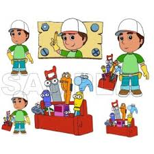 personalized iron transfers handy manny iron ons