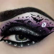 halloween eye makeup creepy looks to complete your costume