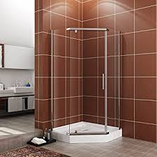 Neo Shower Door Sterling Sp2276a 38s Intrigue Neo Angle Shower Door Silver With