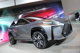 lexus lf nx photos the best and brightest of the 2014 detroit auto show