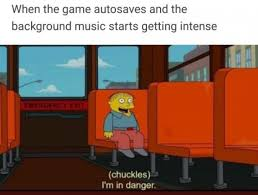Meme The Game - when the game autosaves and the background music starts getting
