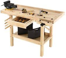 Boys Wooden Tool Bench Wood Work Table Ebay