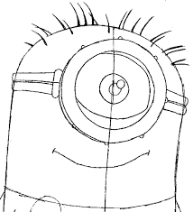 step 6 drawing tim minion despicable easy steps