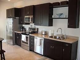 wall for kitchen ideas one wall kitchen garage apartment plan kitchens