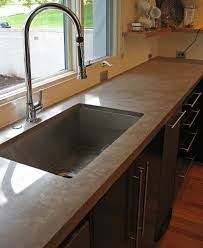 polished concrete countertops cost and incredible cement trends