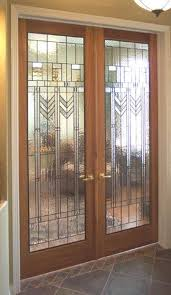stained french glass door stained glass door strandedwind home