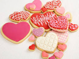 heart shaped cookies happy s day irrgang