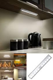 motion sensor under cabinet lighting albrillo led motion sensor closet light wireless battery operated
