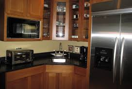 New River Cabinets River Forest Kitchen Using Mission Style Oak Cabinets Black