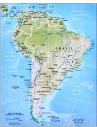 south america map atlas geography for south america flags maps industries
