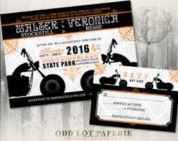 wedding invitations quincy il biker motorcycle wedding invitation diy printable digital