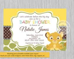 king baby shower theme lion king baby shower invitations reduxsquad