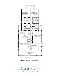 Live Oak Floor Plans Ocean Oaks Site Plan And Pricing