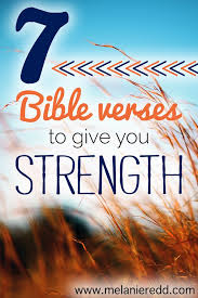 bible verses give strength