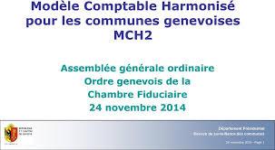 chambre fiduciaire modèle comptable harmonisé pour les communes genevoises mch2 pdf