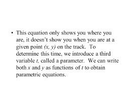 10 6 parametrics objective to evaluate sets of parametric