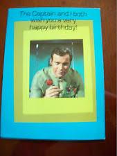 star trek birthday card ebay