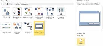 microsoft visio series creating a basic wireframe file