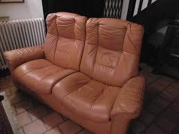 stressless canape 2 places cuir achetez canape cuir 2 places occasion annonce vente à guyancourt