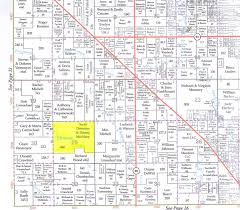 Mi County Map 460 Acres In Osceola County Michigan