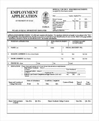 27 sample application forms